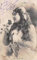 CPA Fantaisie - Femme - Artiste - Portrait - BREJEAN SILVER - Mujeres