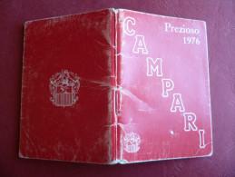 Calendarietto Da Barbiere CAMPARI Prezioso 1976 - Calendari