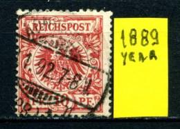 GERMANIA - DEUTSCHES REICH - Year 1889 - Usato - Used. - Deutschland