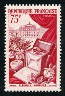 FRANCE 1954 - Yv. 974 **   Cote= 17,00 EUR - Fleurs, Parfums Et L'Opéra De Paris ..Réf.FRA28223 - France