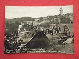 Bussana Tende E Baracche Dopo Il Terremoto Del 1887 Imperia - Other Cities
