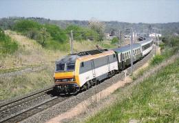 CPM LE RAIL USSELLOIS N°334 BB 26030 Le Cévenol Vers Randan 63 - Trenes