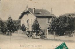 88 - BAINS-les-BAINS - CPA - Villa Des Glycines - Calèche, Cabriolet - Bains Les Bains