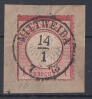 DR Briefstück Minr.4 Nachv. Stempel Mittweida 14.1.73 - Deutschland
