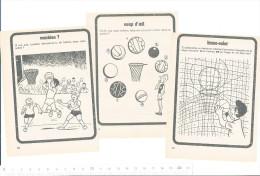 Humour  / Game Around Sport Basket-Ball Humor  / BIM 157/5 - Oude Documenten