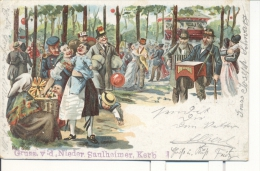 Alzey Worms - Nieder Saulheim - Kermisse - Kermis - Foire - 1901 - Köln - Alzey
