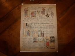 Vers 1900  Imagerie D'Epinal  N° 3121 (Ronde) La POLICHINELLE  (Imagerie Pellerin & Cie) Illustrée Par JOB - Vieux Papiers