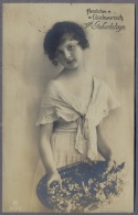 PETITE FILLE - LITTLE GIRL - MAEDCHEN - Jolie Carte Fantaisie 1919y.   A889 - Retratos