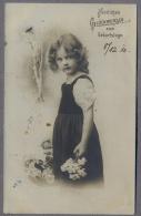 PETITE FILLE - LITTLE GIRL - MAEDCHEN - Jolie Carte Fantaisie 1910y.   A890 - Ritratti