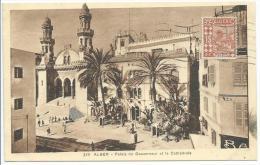 Alger: Palais Du Gouverneur Et La Cathédrale, N° 329. Imprimé RECP 15043A - Alger