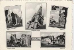 CPSM BOUSSU (Belgique-Hainaut) - 5 Vues - Boussu