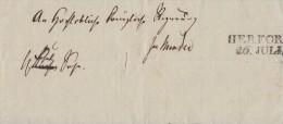 Brief L2 Herford 26 Juli - Deutschland