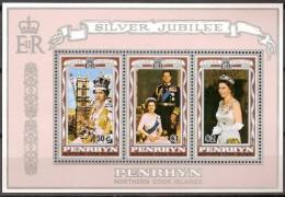 Penrhyn 1977 Yvertn° Bloc 4 *** MNH Cote 6,50 Euro - Penrhyn