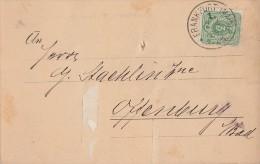 DR Karte Minr.39 Plf. IV Frankfurt 2.4.88 - Deutschland