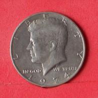USA  1/2  DOLLAR  1974   KM# 202 B  -    (Nº12855) - Federal Issues
