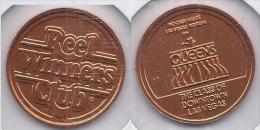 Four Queens Reel Winners Club No Cash Value Token - Casino