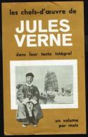 Insert Publicitaire à MJ - Les Chefs D'oeuvre De Jules VERNES Publiés Chez Marabout. - Marabout Junior