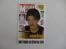 Magazine Mulher Moderna Portugal Portuguese Pocket Calendar 1998 - Calendari