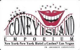 Coney Island Emporium Thin Plastic Card For Gaming Arcade - Casino Cards