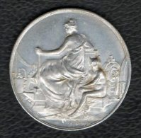 SERE Forge - Médaille Publicitaire En Aluminium - France