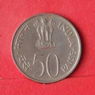INDIA  50  PAISE  1973   KM# 62  -    (Nº12887) - India