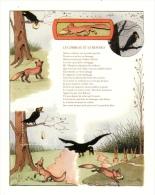 Feuillet Le Corbeau Et Le Renard - Documenti Della Posta