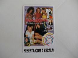 Magazine 100% Jovem Spice Girls Portugal Portuguese Pocket Calendar 1998 - Calendriers