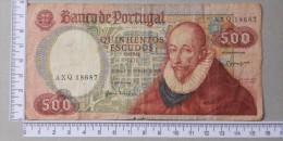 PORTUGAL  500  ESCUDOS  1979     -    (Nº12899) - Portugal