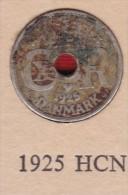 Denmark, 10 Øre, 1925 HCN.  Copper-Nickel - Denmark