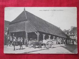 PONTIVY (morbihan) La Halle Aux Grains Attelage - Halles