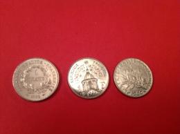 LOT De 3 Pieces 1F 1960-95-92 SUP Voir Détail - Monedas & Billetes