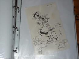 Publicité Médecine Ballotyl  Illustrateur HERVE Humour - Reclame