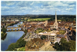 WORCESTER CITY FROM CATHEDRAL TOWER - Worcestershire