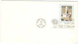 ONU - NAZIONI UNITE - UNITED NATIONS - NATIONS UNIES – 1975 - 10c - Letter - Intero Postale - Entier Postal - P... - New York - Sede Centrale Delle NU
