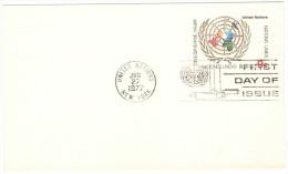 ONU - NAZIONI UNITE - UNITED NATIONS - NATIONS UNIES – 1977 - 9c - Carte Postale - Postal Card - Intero Postale... - New York - Sede Centrale Delle NU
