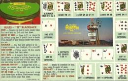 Aladdin Casino Las Vegas & Black Jack Rules @1962 - Las Vegas