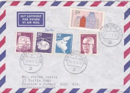 Germany 1975 Cover Sent To Australia - [7] Federal Republic