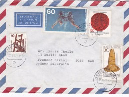 Germany 1977 Cover Sent To Australia - [7] Federal Republic
