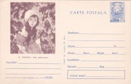Romania 1966 Unused Postal Card,N.Tonitza - 1948-.... Republics