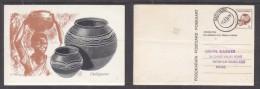 Bophuthatswana: 3c Postal Card, Dinkwana (water Pot), Used RADITHUSO 17. I .79,  . A.H.Barrett (artist) - Afrique