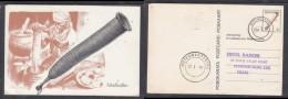 Bophuthatswana: 3c Postal Card, Mottlhotlho (strainer)used MODIMOSANA 79 I 19  > PIETERMARITZBURG. A.H.Barrett (artis - Africa