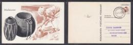 Bophuthatswana: 3c Postal Card, Modutwana (water Vessel Used TLHABANE 12.I.79   A.H.Barrett (artist) - Afrique