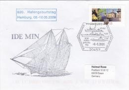 Ships: Ide Min - Hafengeburtstag P/m Hamburg 2009 (G78-3) - Ships