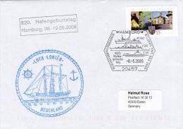 Ships: Loth Lorien From The Netherlands - Hafengeburtstag P/m Hamburg 2009 (G78-3) - Ships