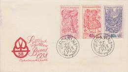 Enveloppe 1er Jour   TCHECOSLOVAQUIE     Exposition  Universelle  BRUXELLES   1958 - 1958 – Bruxelles (Belgique)