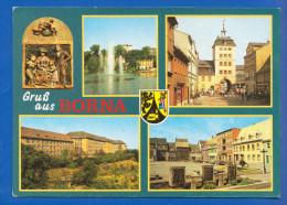 Deutschland; Borna; Krankenhaus Und Markt - Borna
