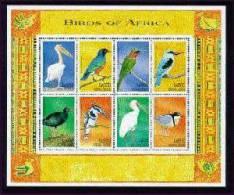 SIERRA LEONE   2194  MINT NEVER HINGED MINI SHEET OF BIRDS   #   M-811-2  ( - Unclassified