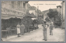 CPA La Turbie - Route De La Corniche - La Turbie