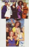 Pocket Calendar Ukraine  2000--2p. -- SPICE GIRLS - Calendriers