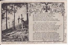Friedhof-Kriegerfriedhof-HELDEN GRÄBER-Guerre 14/18-Médaille - Cimiteri Militari